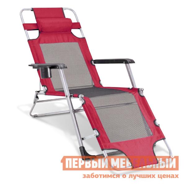 Шезлонг Афина-мебель Стелла-1 CHO-103/6 Бордовый