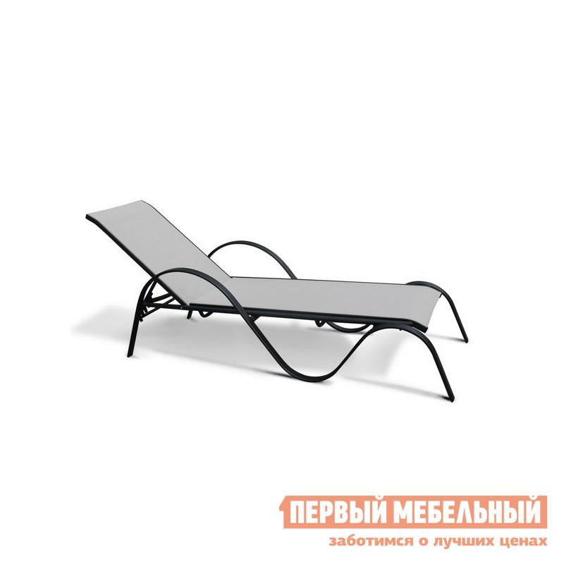 Шезлонг металлический Афина-мебель MC-3033N трафарет металлический и штампы pergamano садовая мебель