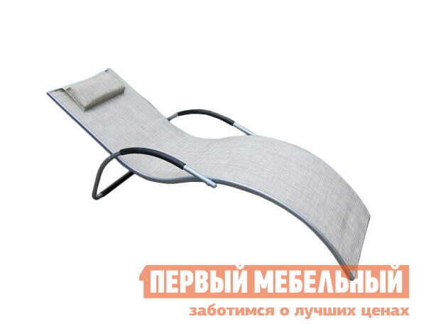 Шезлонг металлический Афина-мебель MC-3039GB / MC-3039GA триммер для волос hs 3039 hs 3039
