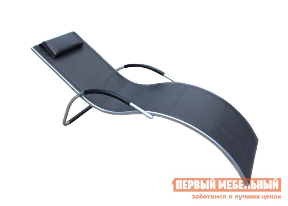 Шезлонг Афина-мебель MC-3039GB / MC-3039GA Серебристо-черный