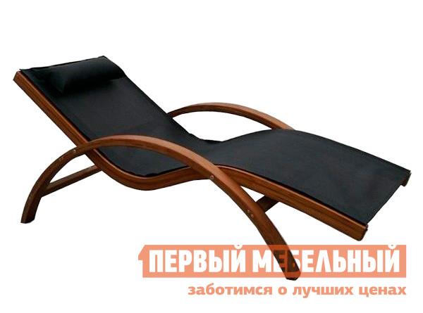 Шезлонг Афина-мебель AFM-503 Black Афина-мебель Габаритные размеры ВхШхГ 700x680x1600 мм. Шезлонг анатомической формы Мальта AFM-503 для полноценного летнего отдыха.  Шезлонг опасно использовать, если вы хотите прилечь всего на минутку.  Вы гарантированно проведете в нем не менее получаса.  Этому способствует и форма и мягкая подушечка под головой. <br>Каркас выполнен из массива сибирской лиственницы, такой материал прекрасно перенесет как жаркое, так и холодное лето.  Ткать обивки — современный тектстилен 4х4, это плетеный материал, который отлично пропускает воздух, при этом не намокает и моментально сохнет. <br>Шезлонг рассчитан на максимальную нагрузку до 150 кг.  Также обратите внимание на его достаточно компактные размеры, высоким людям может быть в нем тесновато.  </br>Сиденье лежака зафиксировано, поэтому в нем можно отдыхать только полулежа. <br>