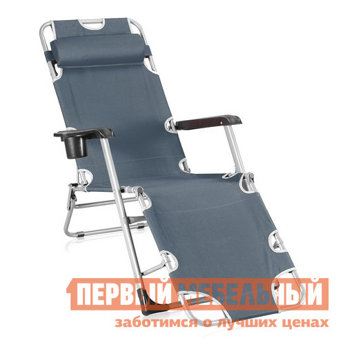 Шезлонг Афина-мебель CHO-103А / CHO-103В / CHO-103D Серый