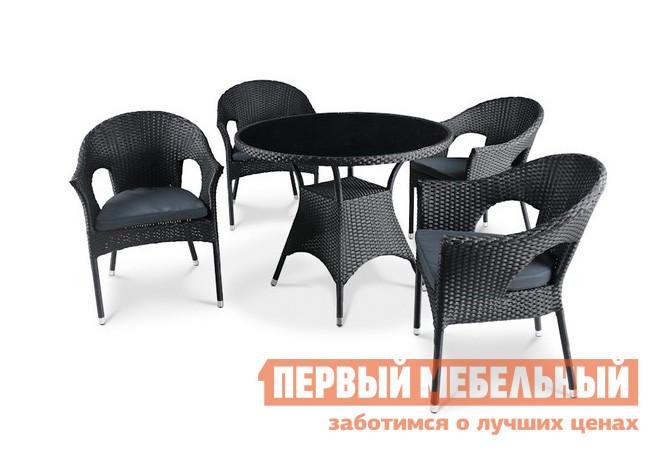 Комплект плетеной мебели Афина-мебель T190A-1 / Y-97A no name t190a 1 y 97a 4 1 page 9 page 9