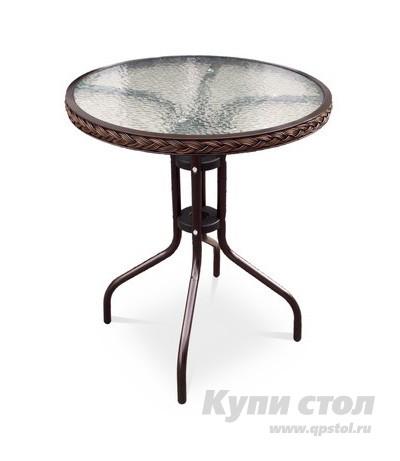 Садовый стол Афина-мебель TLH-087A/В-60 Орех