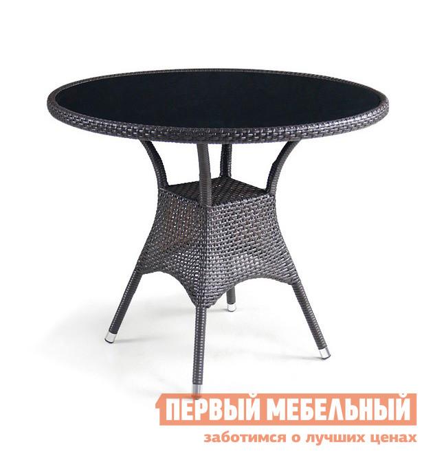 Стол из искусственного ротанга Афина-мебель Т197ANS-W51 полка навесная сканд мебель шервуд пш 03