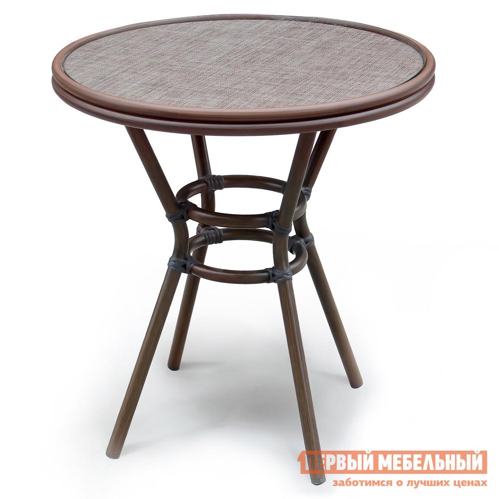 Садовый стол уличный круглый Афина-мебель A1007 полка навесная сканд мебель шервуд пш 03
