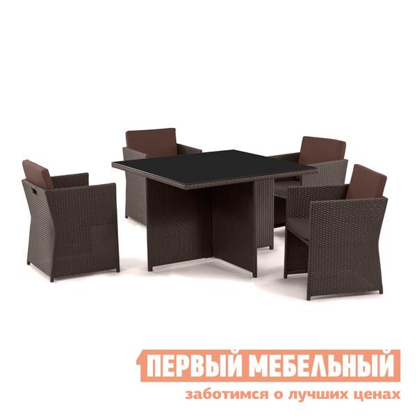 Комплект плетеной мебели Афина-мебель Т300А/Y300А-W53 комплект плетеной мебели из искусственного ротанга афина мебель t51a s51a w53