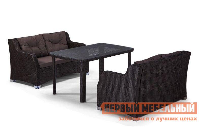 Комплект плетеной мебели из искусственного ротанга Афина-мебель T51A/S51A-W53 комплект плетеной мебели афина мебель т300а y300а w53