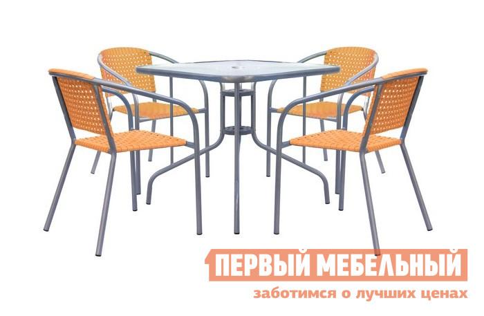 Комплект плетеной мебели Афина-мебель XRB-035 комплект садовой мебели xrb 035 а d с d80x80
