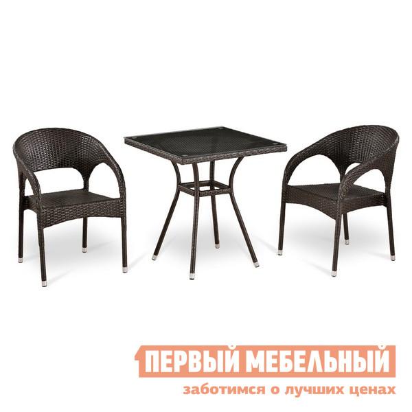Комплект мебели из ротанга Афина-мебель Т282BNT/Y90С-W51
