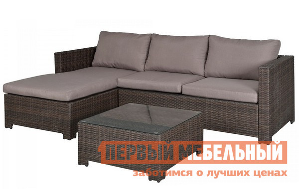 Комплект плетеной мебели Афина-мебель AFM-4025B комплект плетеной мебели афина мебель т300а y300а w53