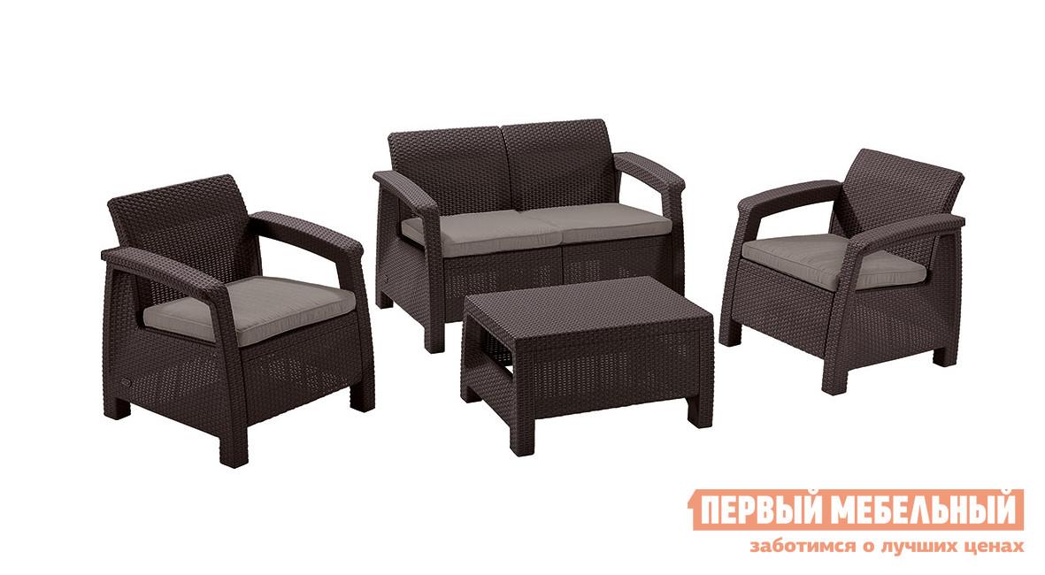 Комплект плетеной мебели Афина-мебель Yalta 2set AFM-1020A