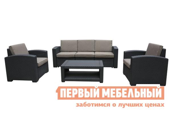 Комплект мебели из ротанга Афина-мебель AFM-3017B комплект плетеной мебели из искусственного ротанга афина мебель rt a92 4pcs