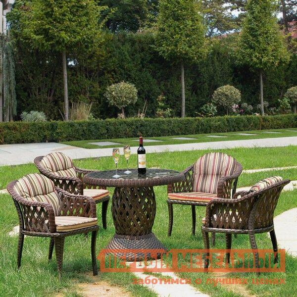 Комплект плетеной мебели из искусственного ротанга Афина-мебель RT-A92 4Pcs комплект плетеной мебели из искусственного ротанга афина мебель t601g y375g w1289 2pcs