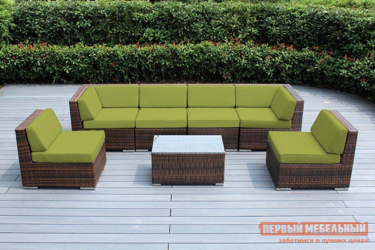 Комплект плетеной мебели из искусственного ротанга Афина-мебель YR822BG комплект плетеной мебели афина мебель т300а y300а w53