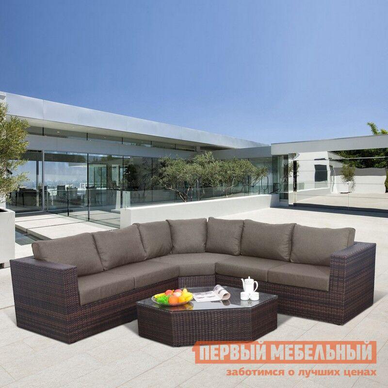 Комплект плетеной мебели Афина-мебель AFM-X03 Brown