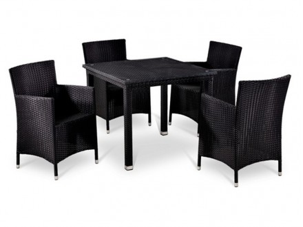 T246ST/Y189D-W5 Black 4Pcs Жардон