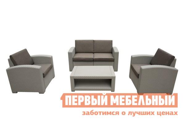 Комплект плетеной мебели Афина-мебель AFM-2017G комплект плетеной мебели афина мебель т300а y300а w53