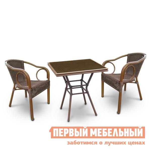 Комплект плетеной мебели Афина-мебель А1016-А2010