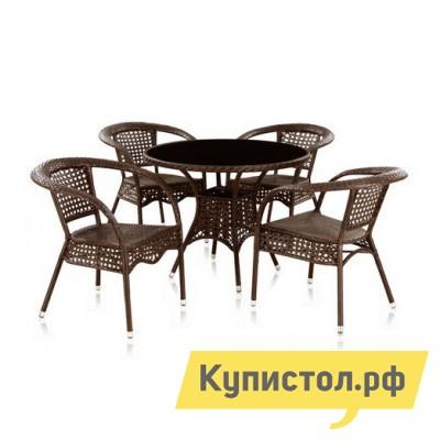 Комплект плетеной мебели Афина-мебель T-220 C/Y-32