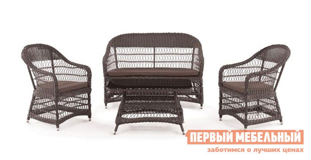 Комплект плетеной мебели Афина-мебель Y-306-2-Y-306-ST306
