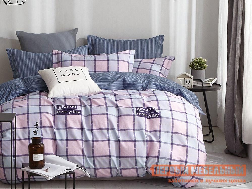 Комплект постельного белья  КПБ сатин С47 С47, сатин, Евро Яньтекс 117043