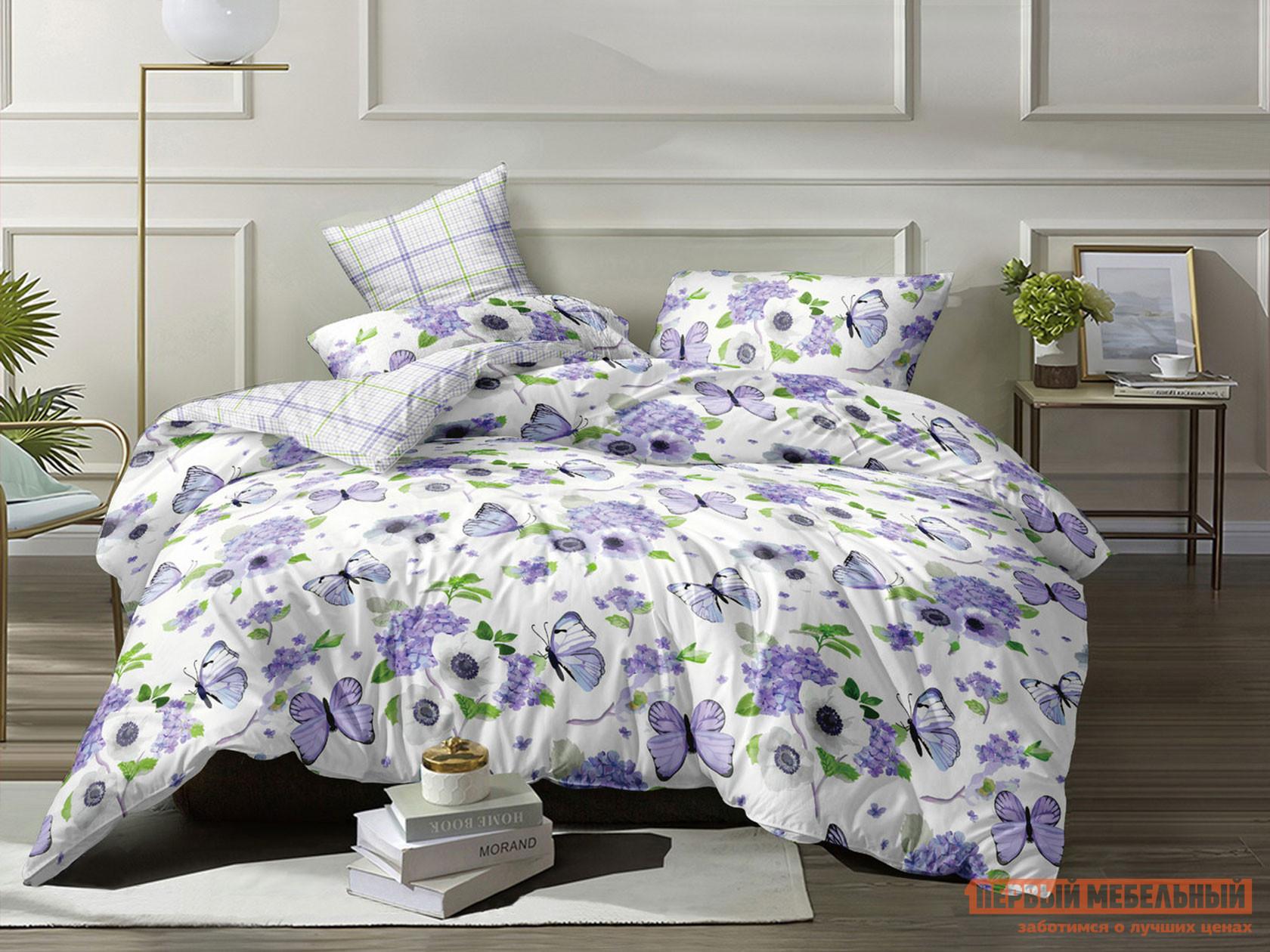 Комплект постельного белья КПБ Butterfly Поплин 12002 12002, поплин, Двуспальный фото