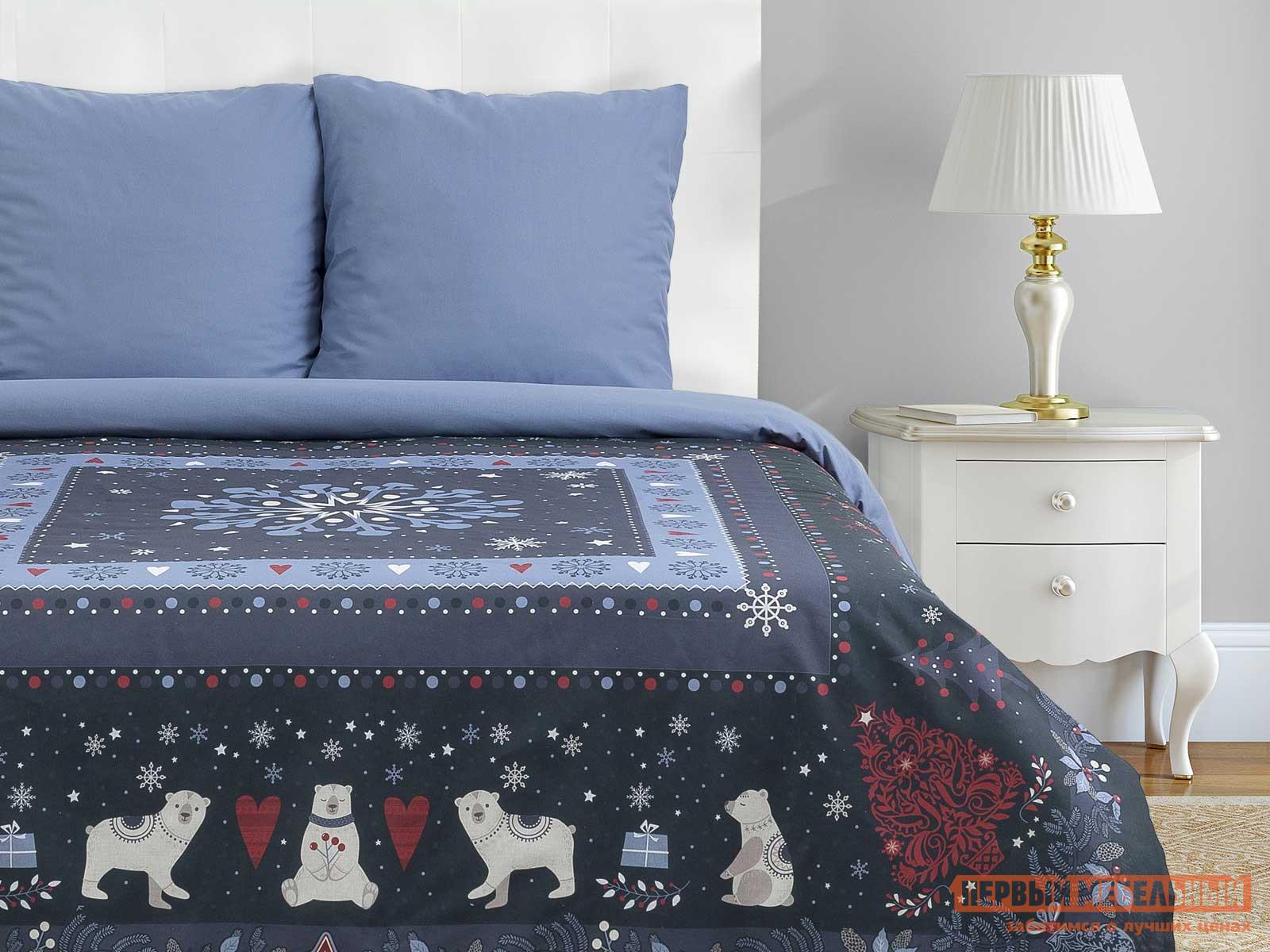 Фото - Комплект постельного белья Первый Мебельный Постельное бельё «Этель» Норвежский праздник этель комплект постельного белья этель red planet 2 спальное