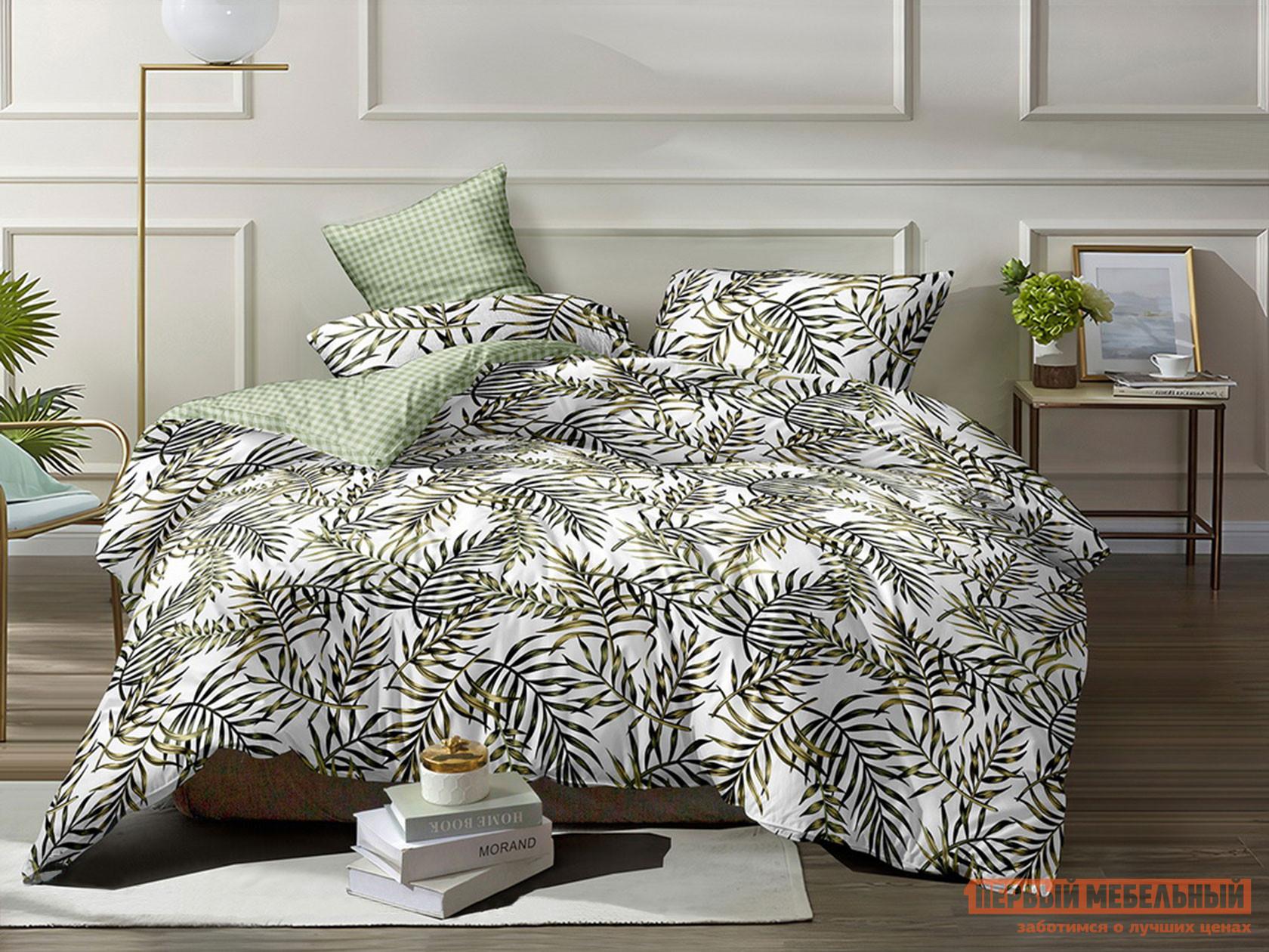 Комплект постельного белья КПБ Butterfly Поплин 11022 11022, поплин, Евро фото