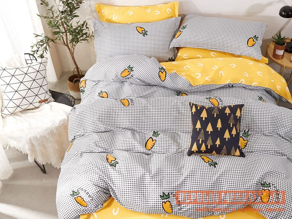 Комплект постельного белья  КПБ сатин 1,5 сп. Д22(1,5) Д22, Яньтекс 117097