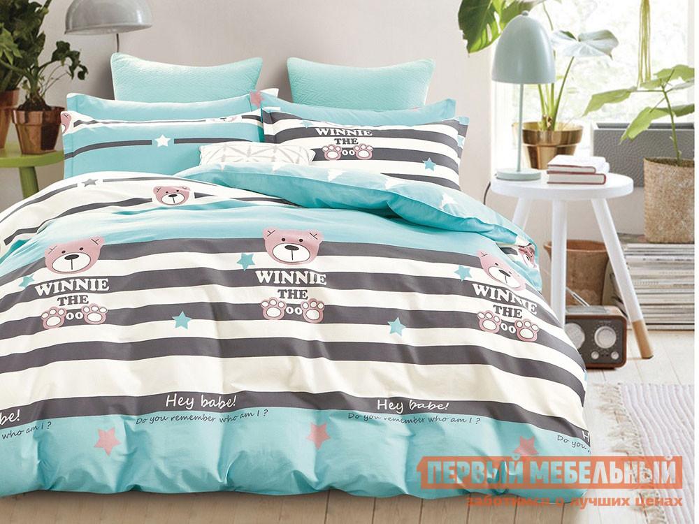 Комплект постельного белья  КПБ сатин 1,5 сп. Д44(1,5) Д44, Яньтекс 117077
