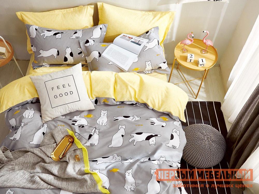 Комплект постельного белья  КПБ сатин 1,5 сп. Д19(1,5) Д19, Яньтекс 117093