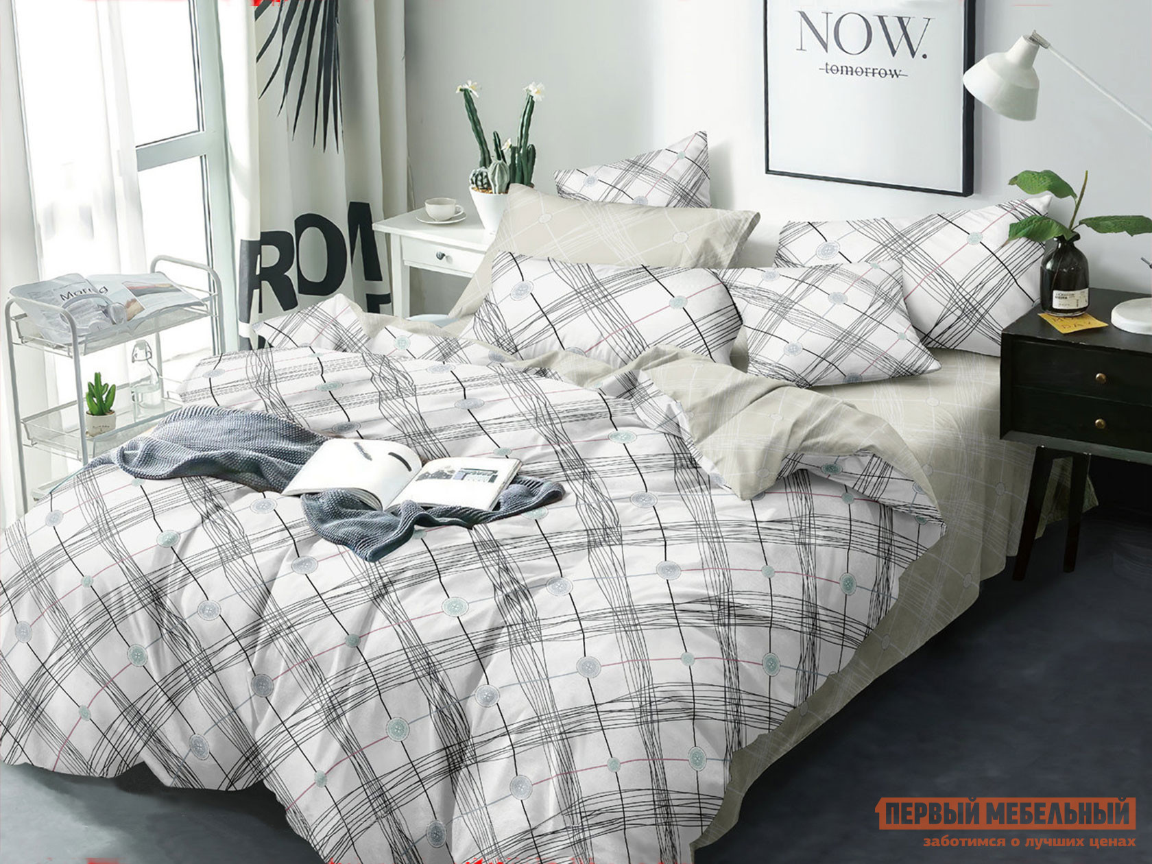 Комплект постельного белья КПБ Butterfly Поплин 12016 12016, поплин, Двуспальный фото