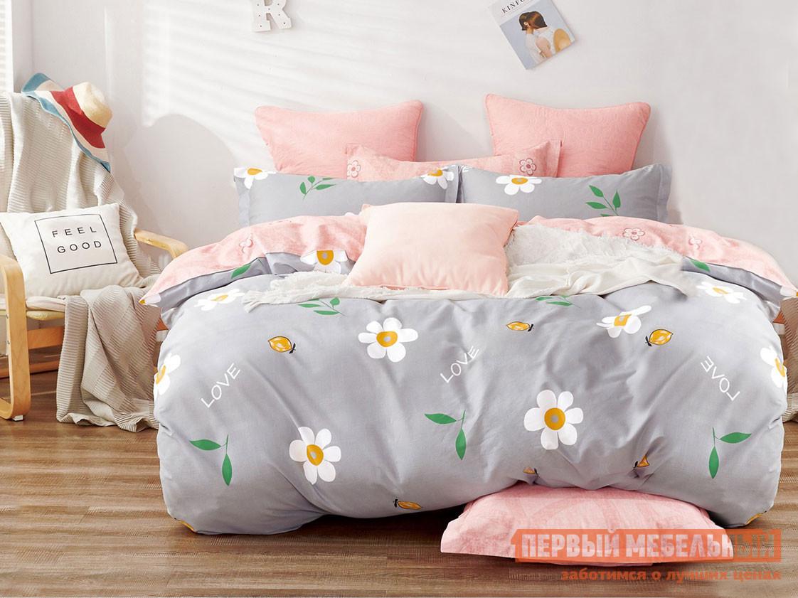Комплект постельного белья КПБ Butterfly Сатин 128 128, сатин, Двуспальный фото