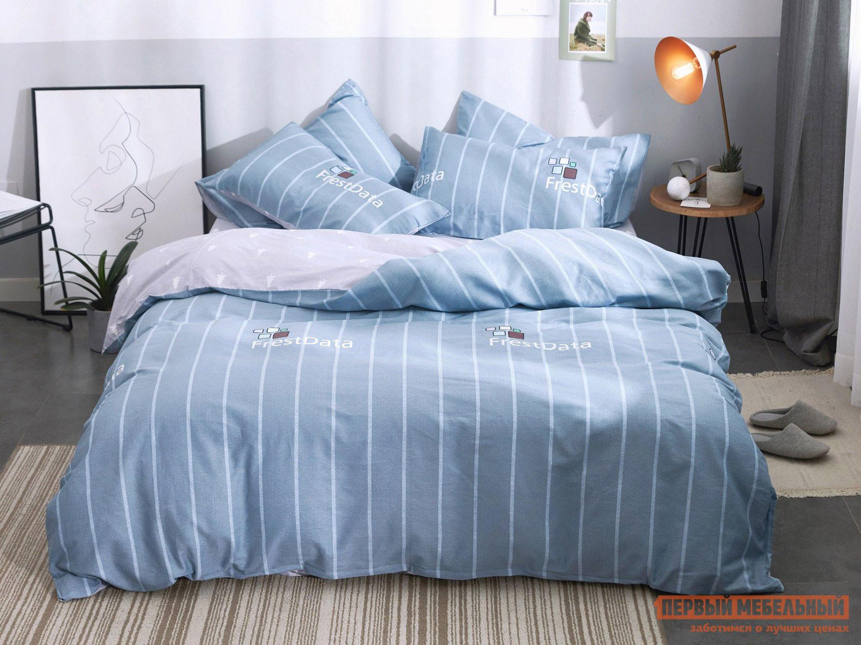 Комплект постельного белья КПБ Сатин-С71 С71, сатин, Евро фото