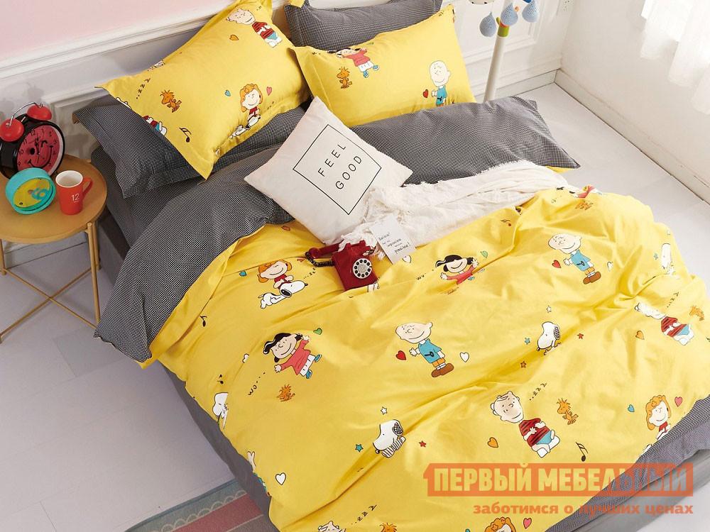 Комплект постельного белья  КПБ сатин 1,5 сп. Д10(1,5) Д10, Яньтекс 117081
