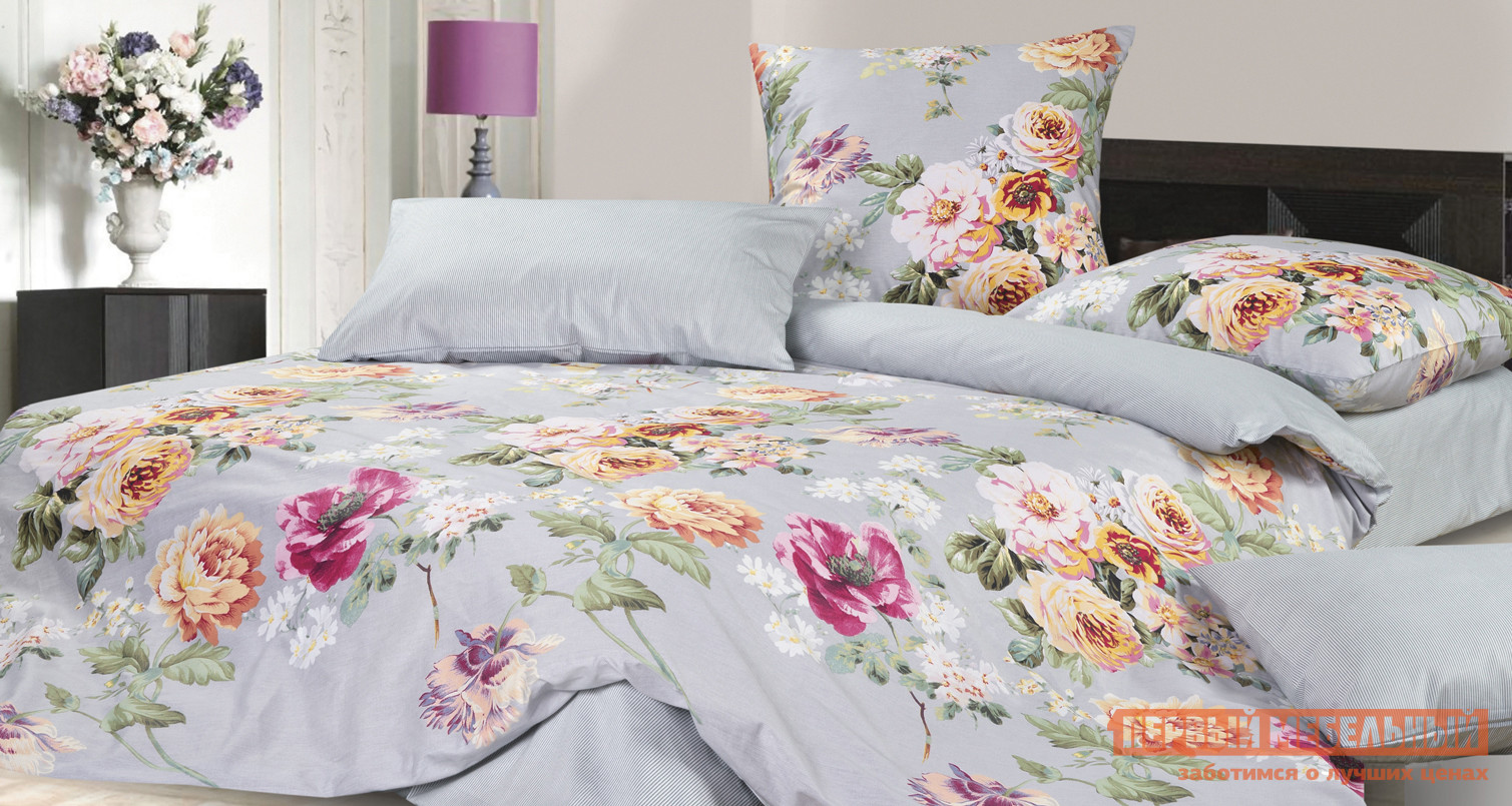 Комплект постельного белья Первый Мебельный КПБ Энигма