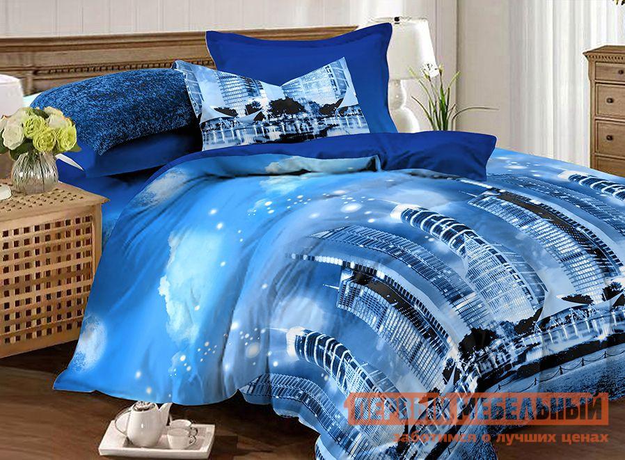 Комплект постельного белья  КПБ Amore Mio BZ Сity Сити, микрофибра, Полутороспальный