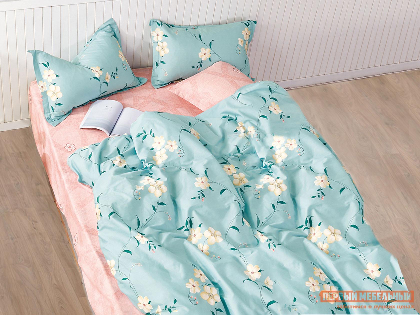 Комплект постельного белья КПБ Butterfly Сатин 110 110, сатин, Полутороспальный фото