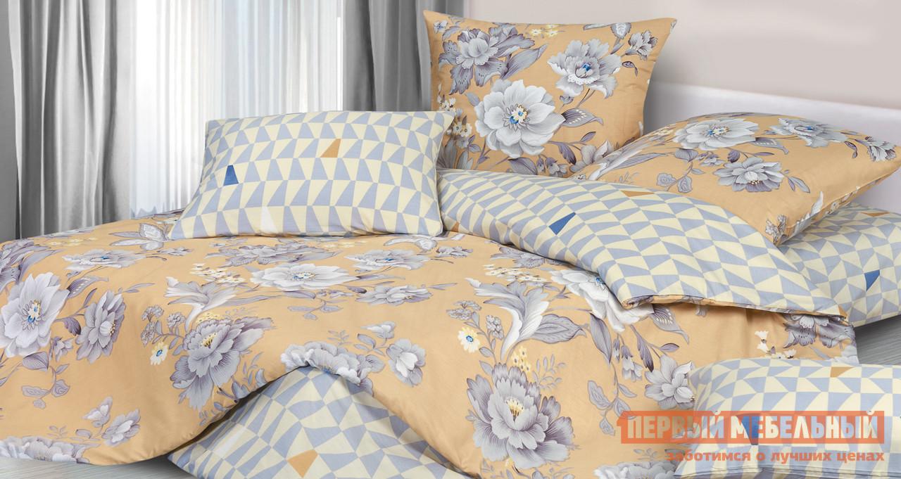 Комплект постельного белья Первый Мебельный КПБ Белый шиповник комплект постельного белья первый мебельный кпб тиффани