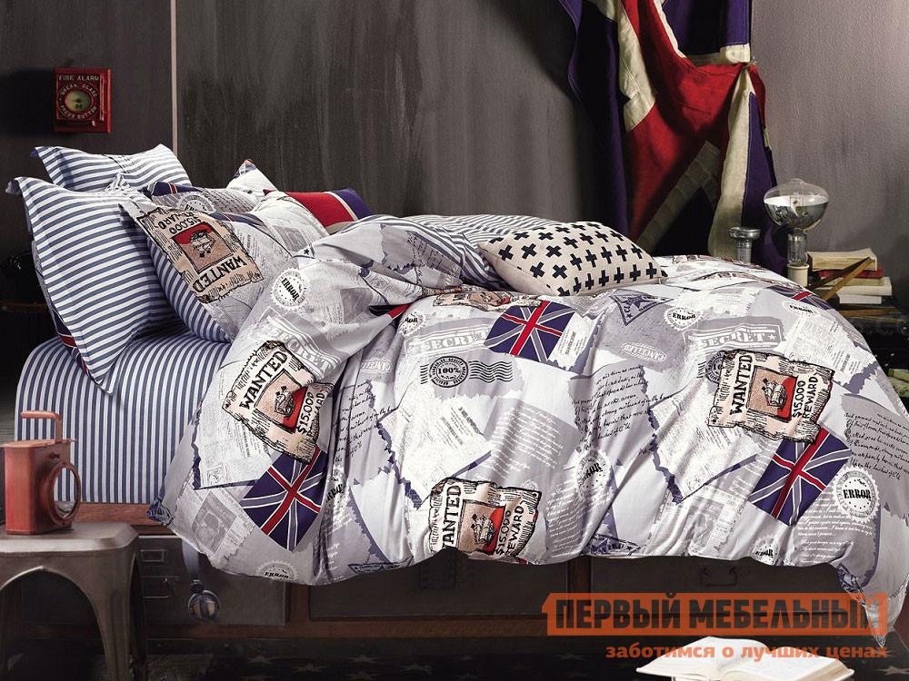 Комплект постельного белья  КПБ сатин 1,5 сп. Д8(1,5) Д8, Яньтекс 117079