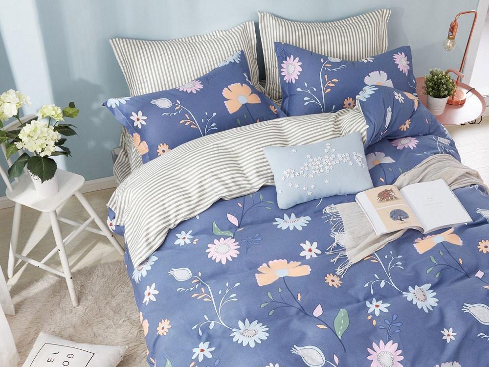 Комплект постельного белья  КПБ сатин С23 С23, сатин, Евро Яньтекс 125459