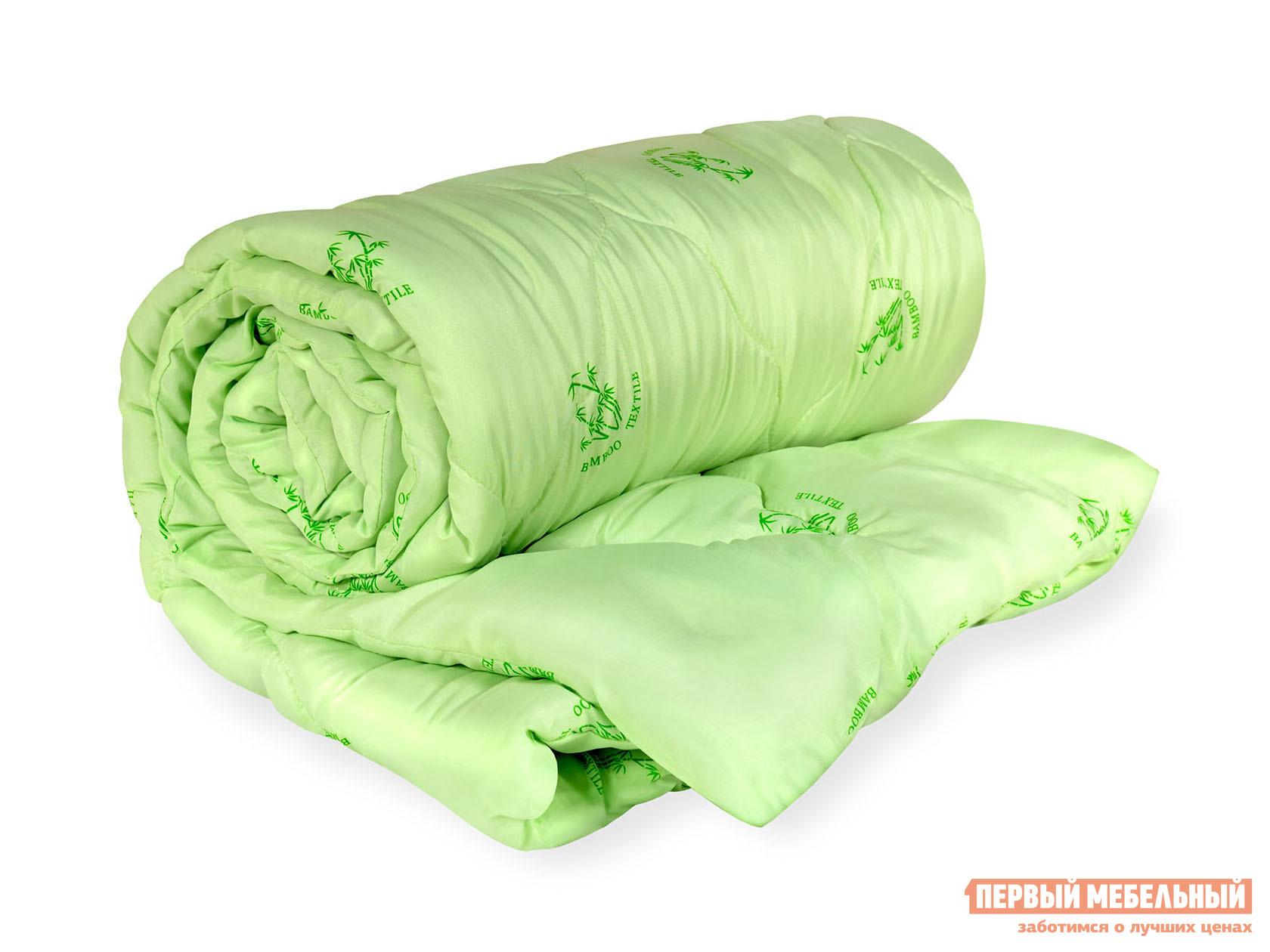 """Одеяло  Одеяло """"Бамбук"""" всесезонное Зеленый, 1400 х 2050 мм"""
