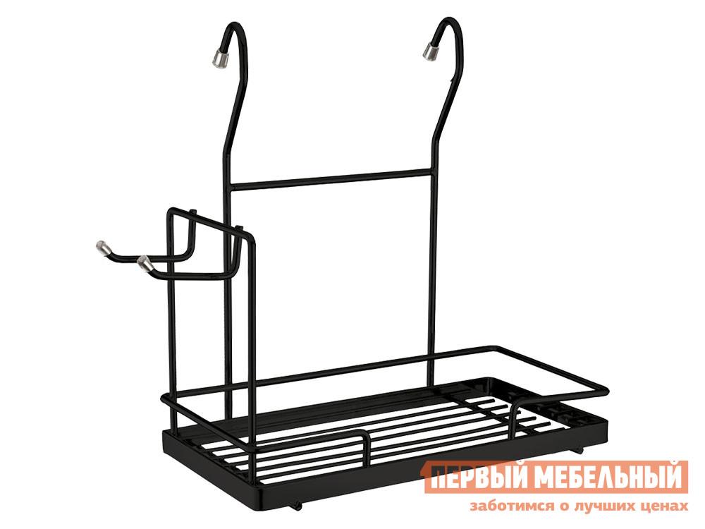Кухонный органайзер  Трейф Черный матовый, металл Магамакс 134896