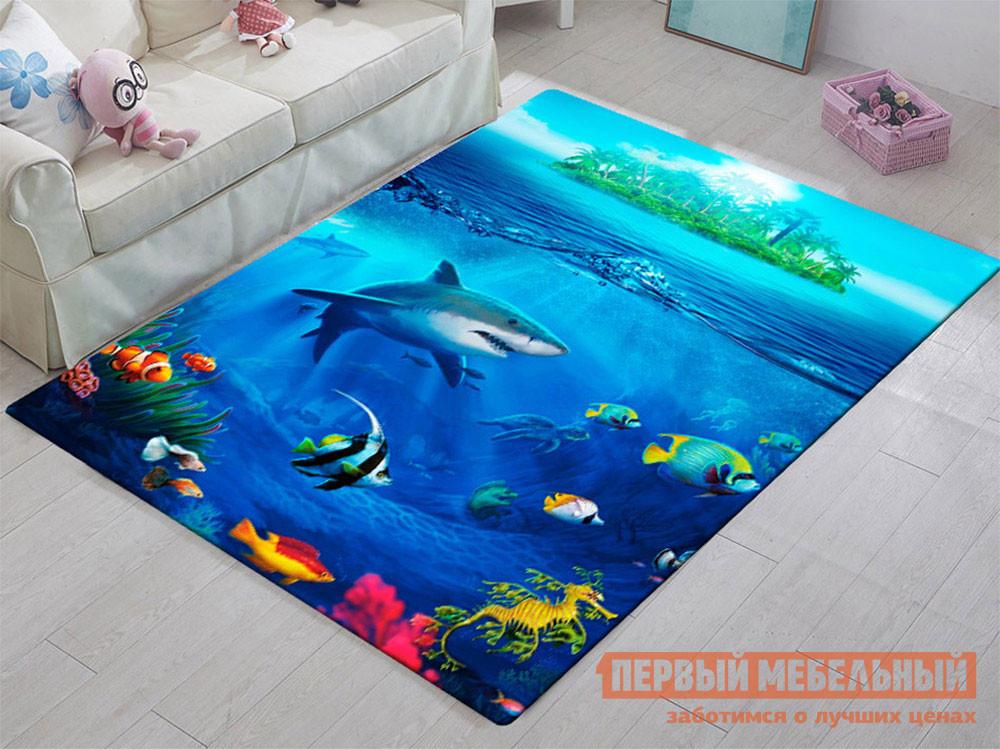 Детский ковер Первый Мебельный Подводный мир