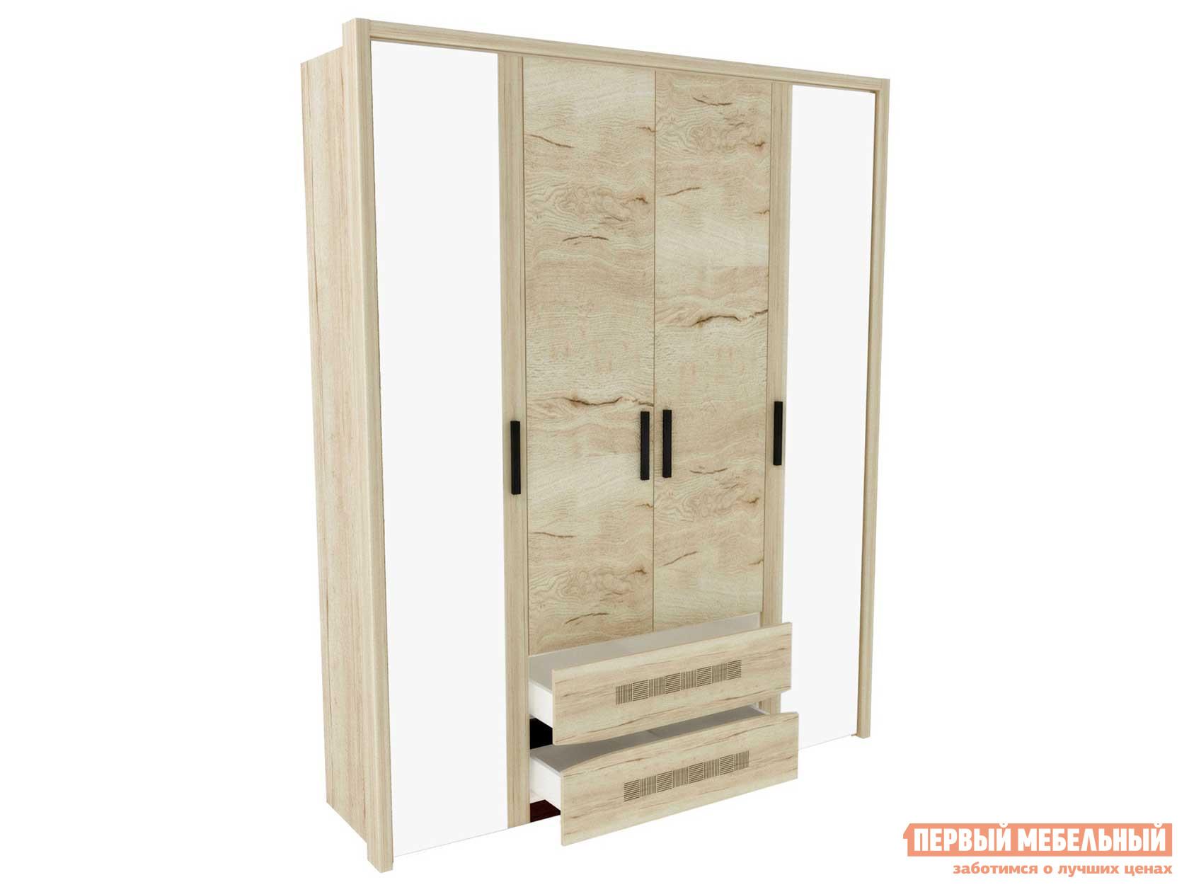 Шкаф распашной Первый Мебельный Шкаф 4-дв. Мале
