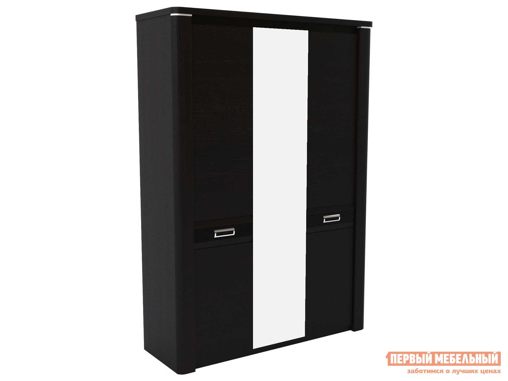 Шкаф распашной Первый Мебельный Шкаф 3-х дверный Магнолия шкаф распашной первый мебельный м 1 шкаф 2 х дверный