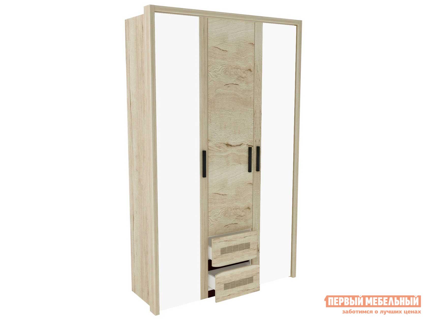Шкаф распашной Первый Мебельный Шкаф 3-дв. Мале