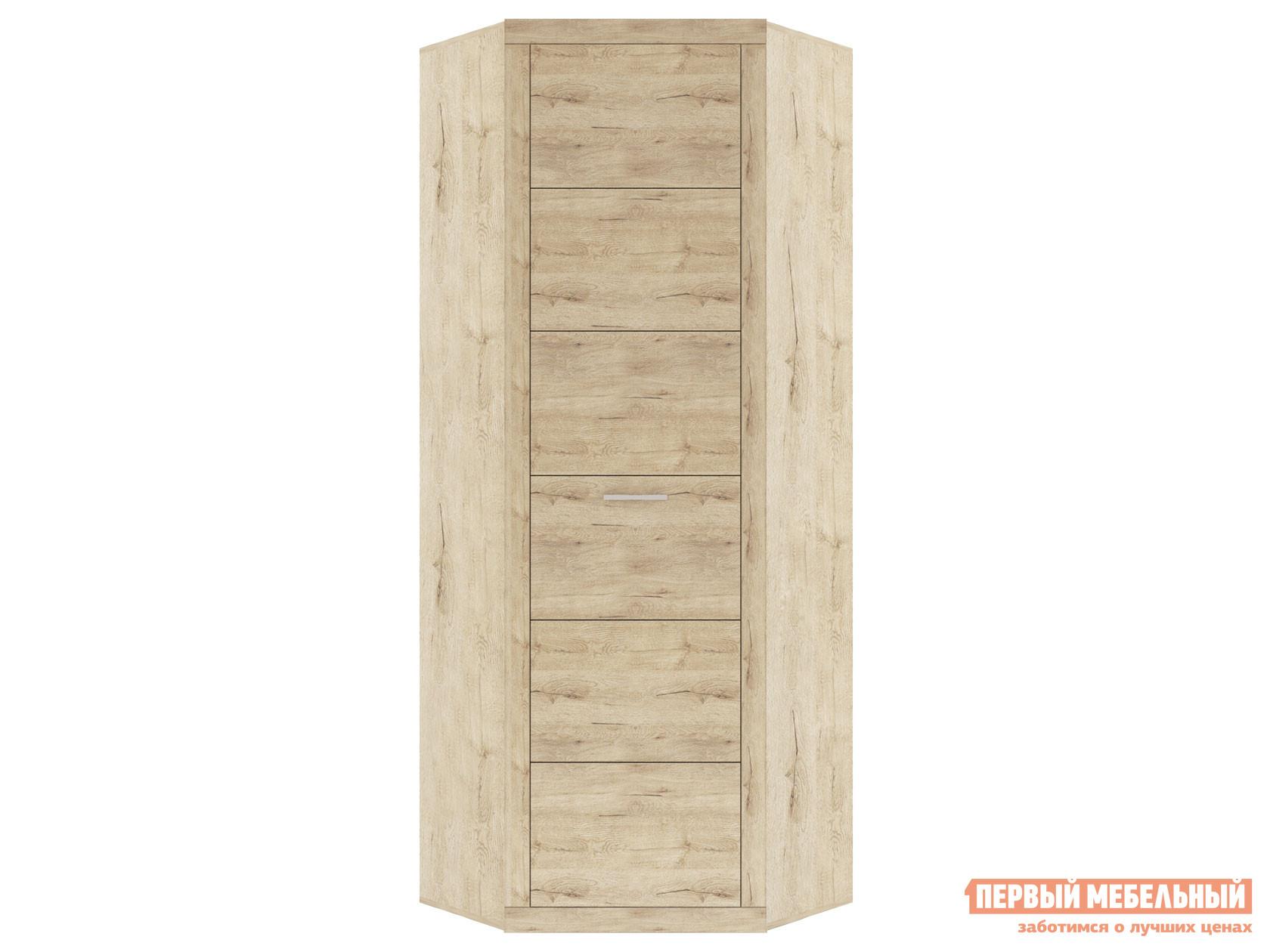 Шкаф распашной Первый Мебельный Шкаф угловой с полками Оскар