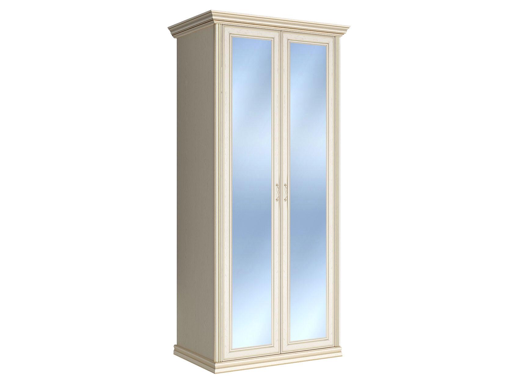 Распашной шкаф Первый Мебельный Шкаф 2-х дверный с зеркалами Венето недорого